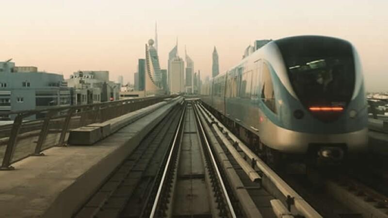 La foto de un tren utilizando Perpetua, uno de los cinco nuevos filtros de la red social de imágenes