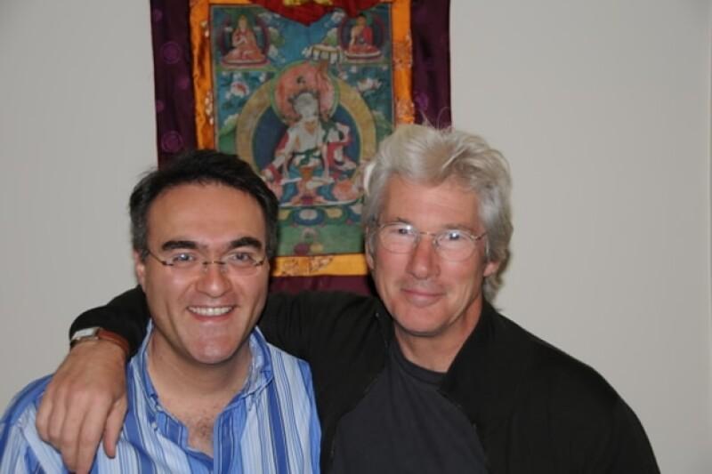 Richard Gere será el encargado de presentar al Dalai Lama durante su visita.