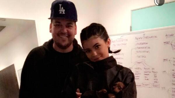 Rob Kardashian, Kylie Jenner