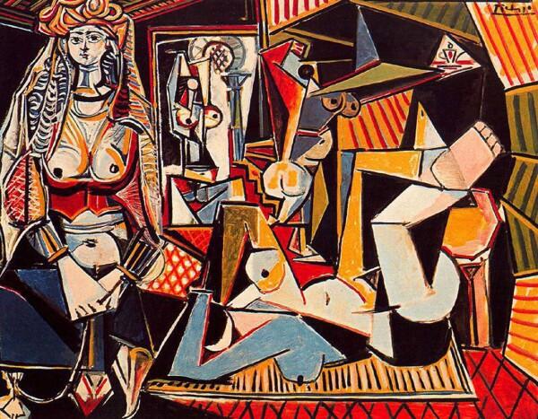 Mujeres de Argel de Pablo Picasso (1955)