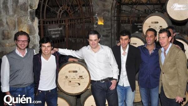 Carlos Slim Domit y Checo Pérez visitaron la Hacienda José Cuervo de Juan Domingo Beckman