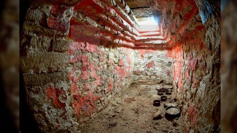 tumba de K'uk Bahlam I en Palenque