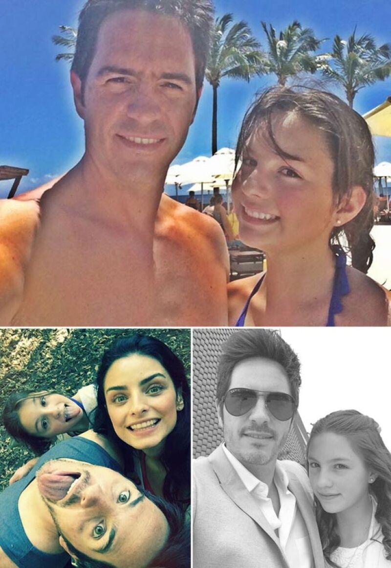 Mauricio es otro hot dad que presume de tener una increíble relación con su hija Lorenza, quien también se lleva súper bien con Aislinn, la prometida de Mauricio.