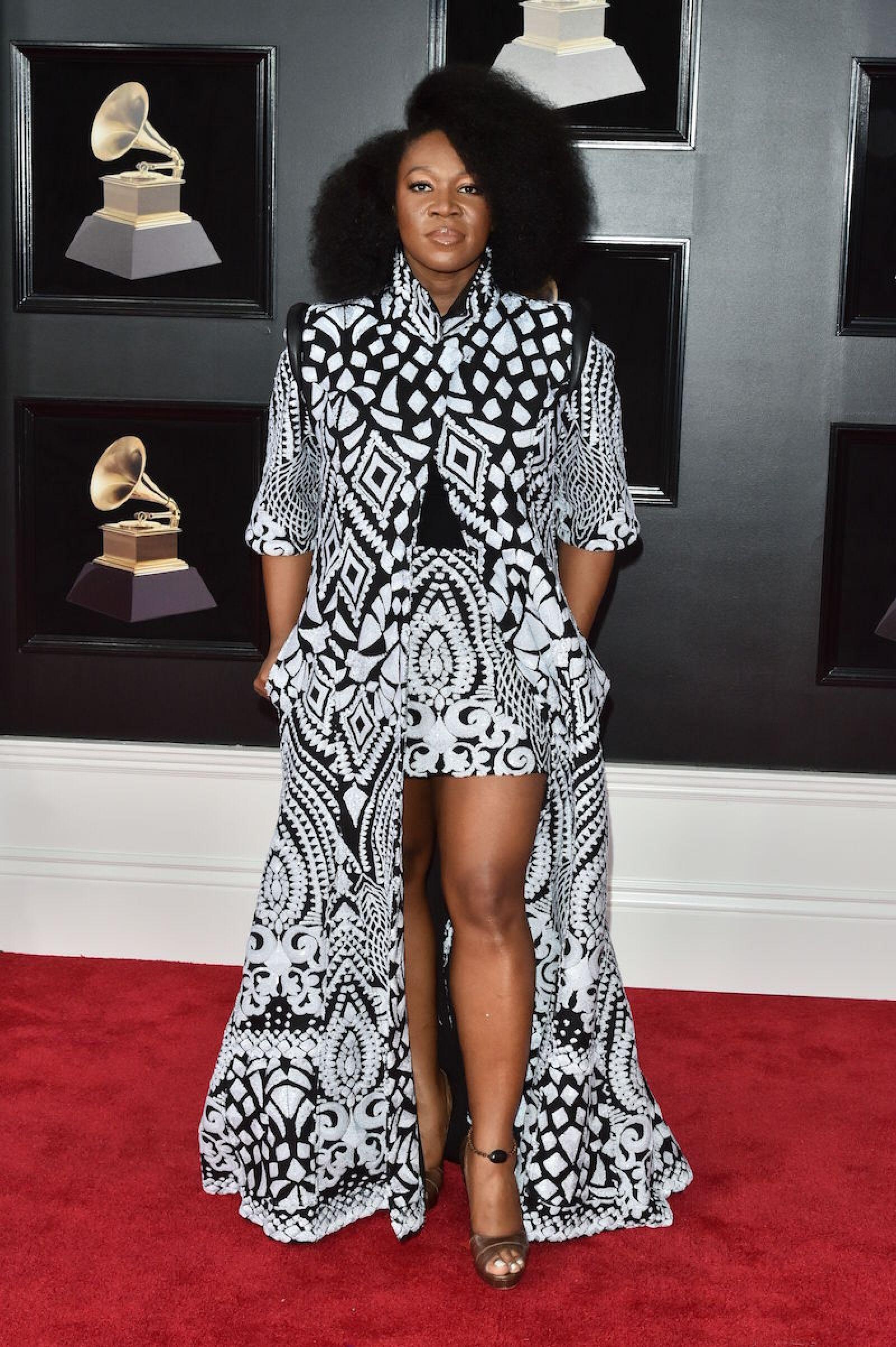 60th Annual Grammy Awards, Arrivals, New York, USA - 28 Jan 2018