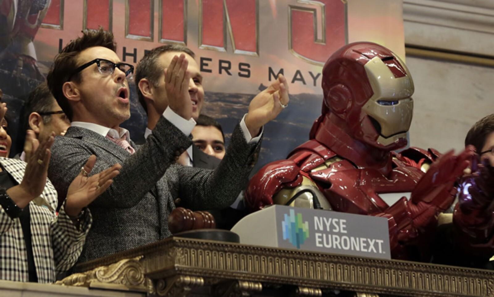 Además de Robert Downey Jr también actúan Gwyneth Paltrow y Don Cheadle.