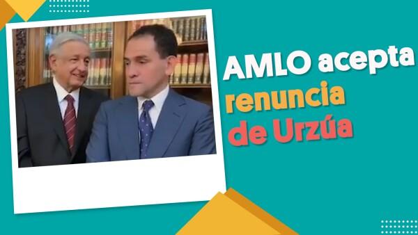 AMLO acepta renuncia de Urzúa #EnSegundos