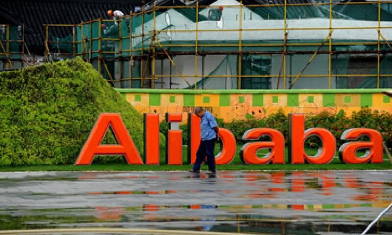 Alibaba ha crecido hasta representar cuatro quintos de todo el comercio en internet que se realiza en China. (Foto: AFP)