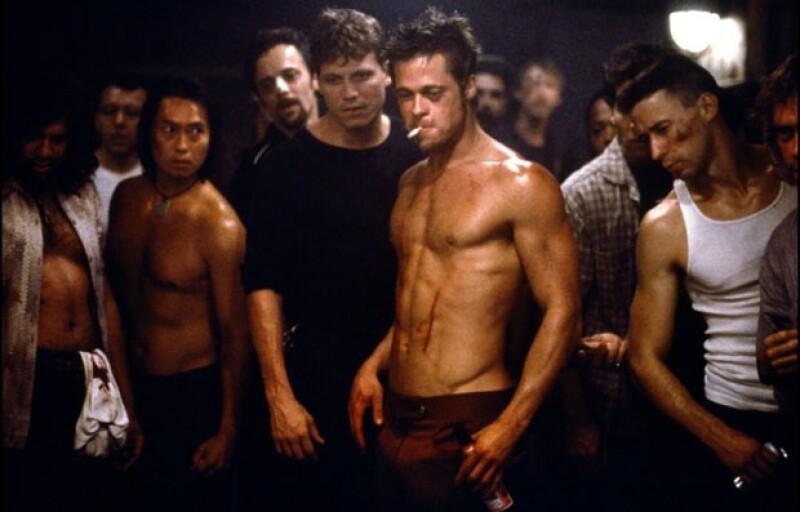 Además de su actuación, Brad Pitt sorprendió en esta película por su inmejorable físico.