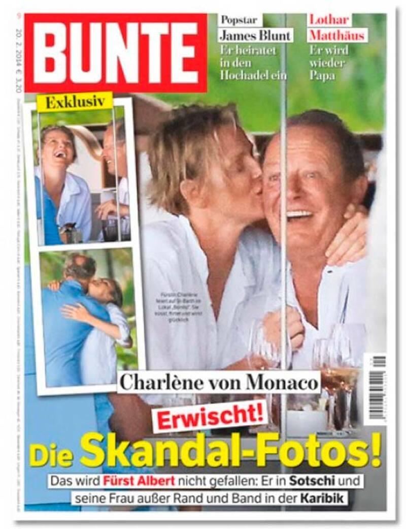 Una revista alemana dio a conocer lo feliz que se encontraba la princesa de Mónaco en sus vacaciones con un hombre que no era su esposo.