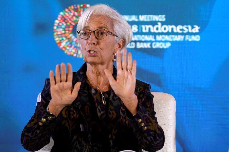 181011 Christine Lagarde FMI reu.jpg