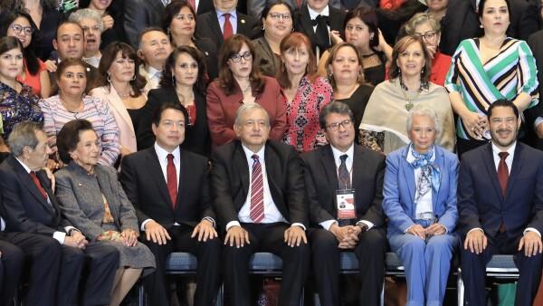 AMLO plenaria legisladores