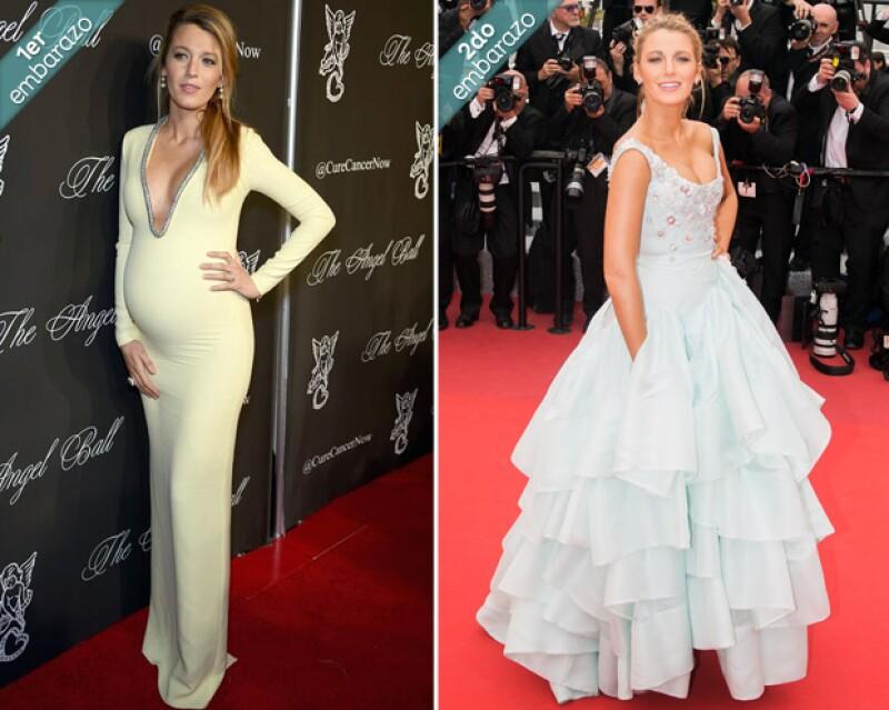 Blake en la gala Angel Ball 2014 y en la premiere de Slack Bay en Cannes 2016.
