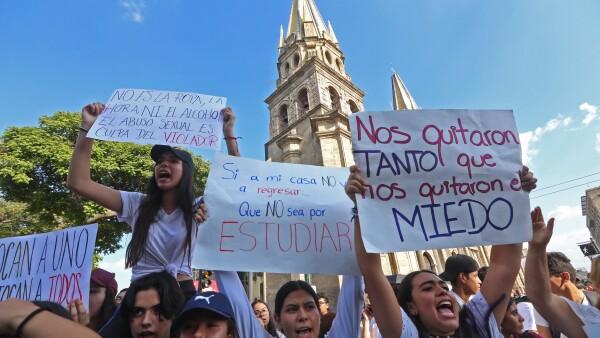 Marcha en Guadalajara