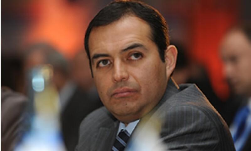 El Secretario de Hacienda, Ernesto Cordero participará en las eleciones presidenciales del 2012 por parte del PAN. (Foto: Notimex)