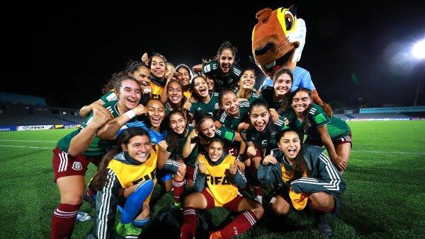 Sub 17 femenil queda en segundo lugar en la Copa del Mundo femenil