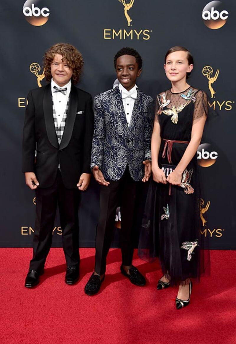 Sin duda alguna, estos niños fueron unos de los invitados más esperados de la red carpet.