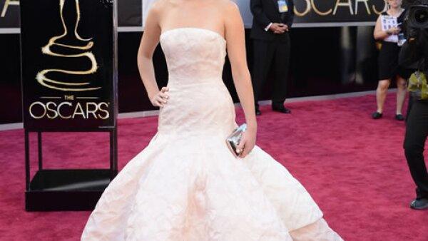 Este vestido Dior Couture fue simplemente espectacular.