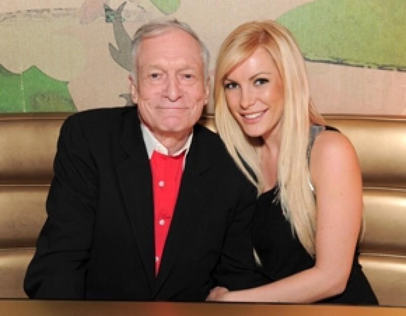 La ex prometida del dueño de Playboy, Crystal Harris, se encuentra viviendo una vez más en la mansión. Esto gracias a la amabilidad de su ex pareja.