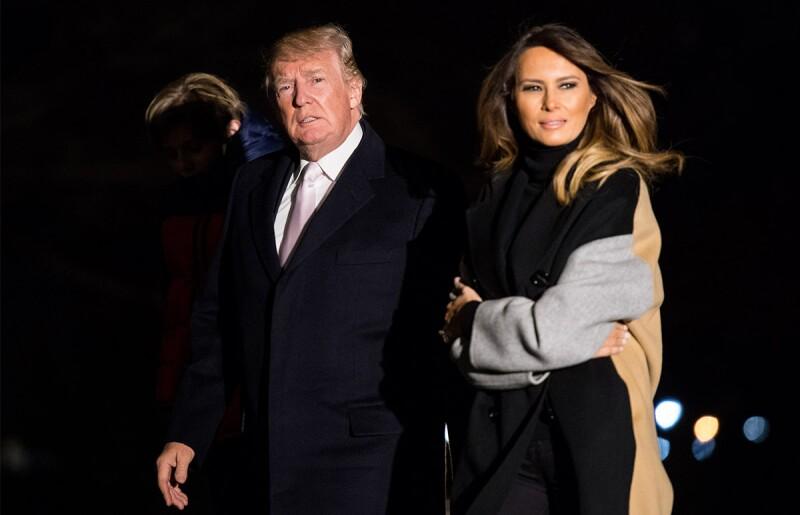 Donald y Melania Trump - Destacada