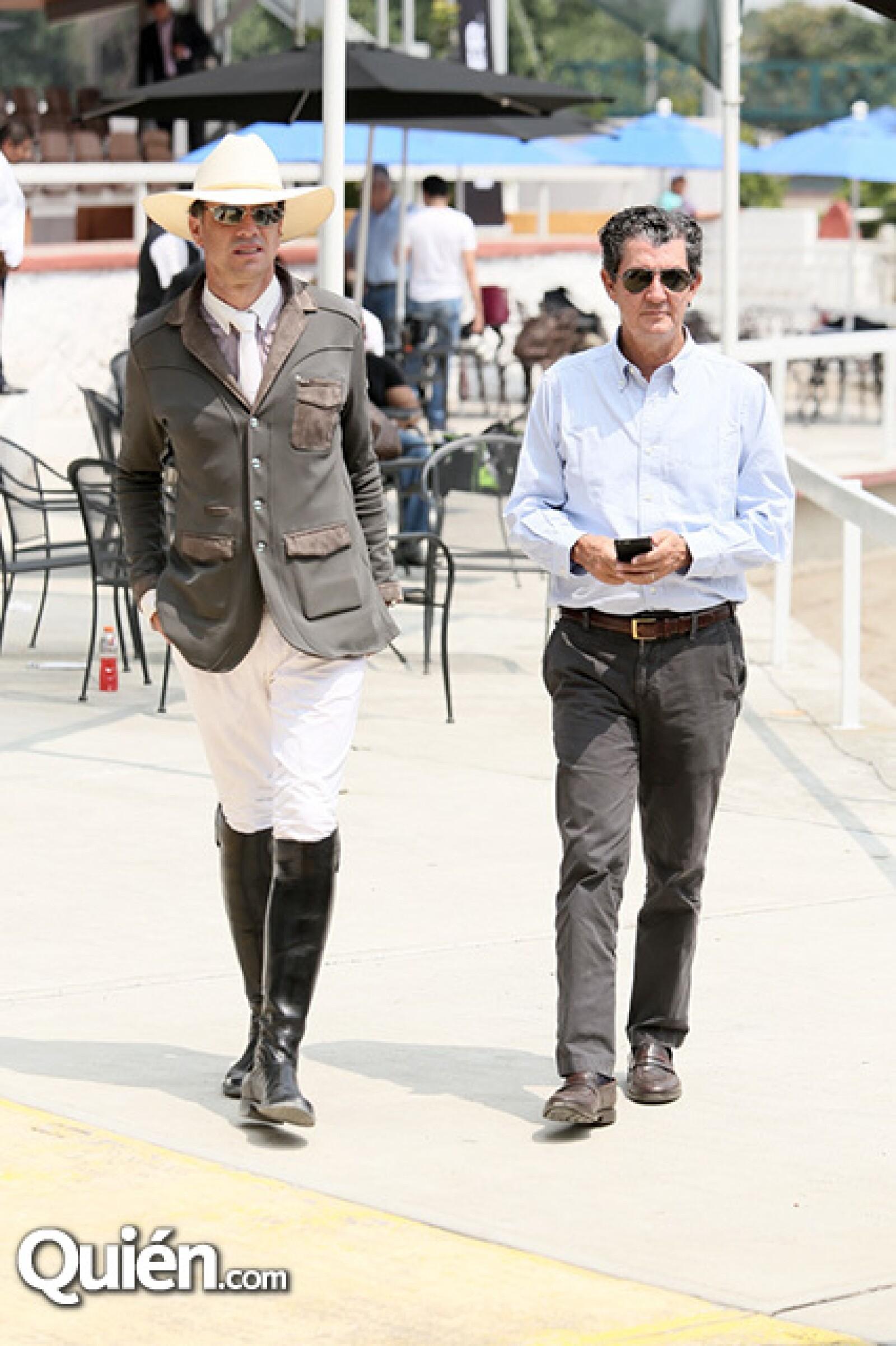 Juan Fernando Reyes y Santiago Urquiza
