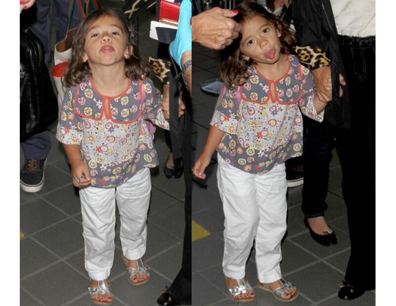 Desde que nació, Valentina Paloma ha tenido que lidiar con los paparazzi.