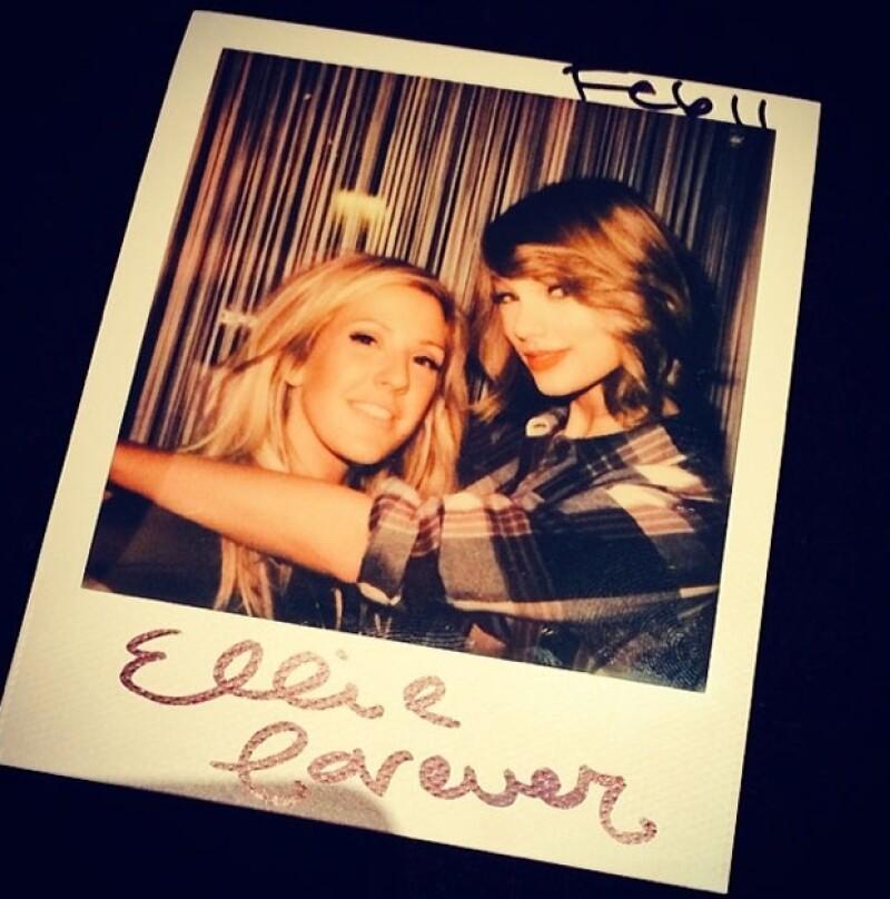 Taylor invitió durante su gira en Inglaterra a Ellie a cantar con ella.