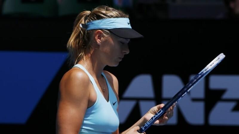 Maria Sharapova queda fuera del Abierto de Australia