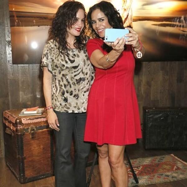 Raquel y Choni Gutiérrez