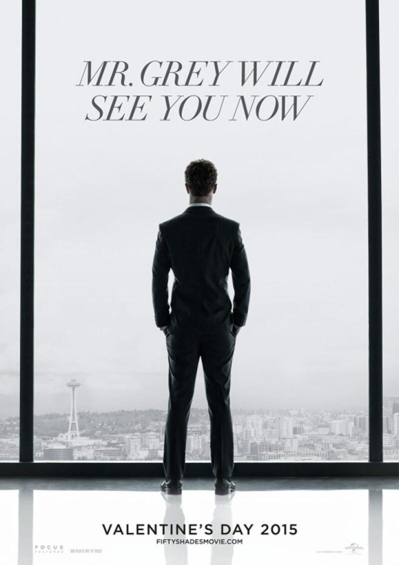 Los Estudios Universal dieron a conocer este fin de semana el primer cartel oficial de la versión cinematográfica de la exitosa novela de E.L. James.
