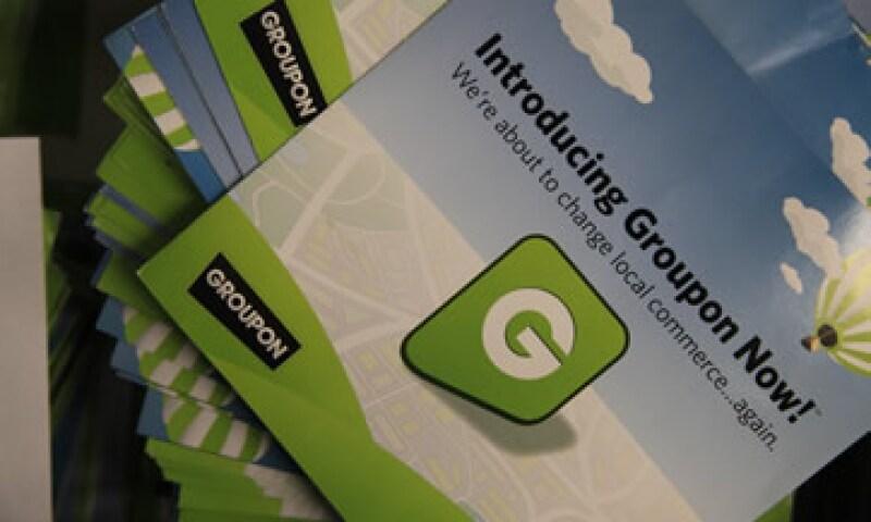Groupon venderá 30 millones de acciones en su OPI, equivalente a una participación de 4.7% de su capital. (Foto: AP)