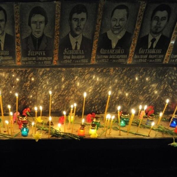 Chernóbil - 25 años - memorial en Slavutich