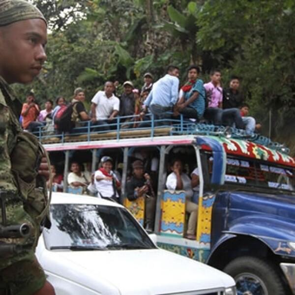 colombia, guerrilla, toribio