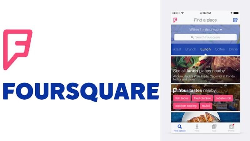 foursquare nuevo logo