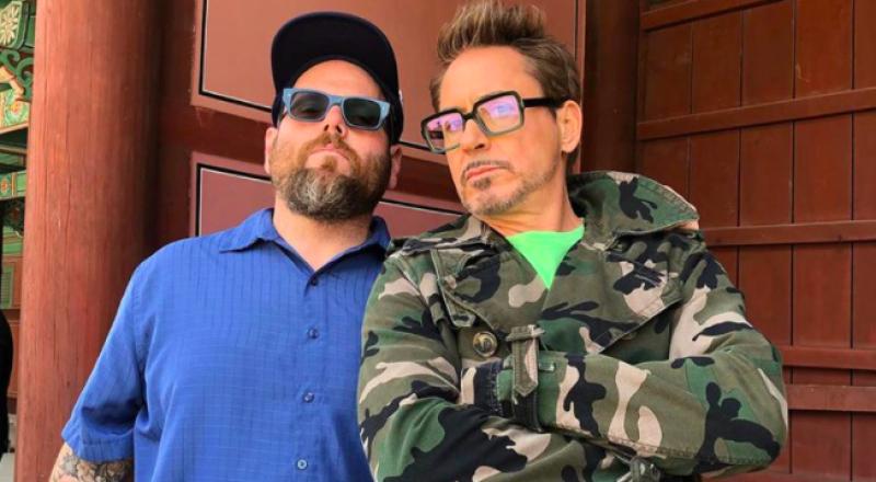 Jimmy Rich y Robert Downey Jr