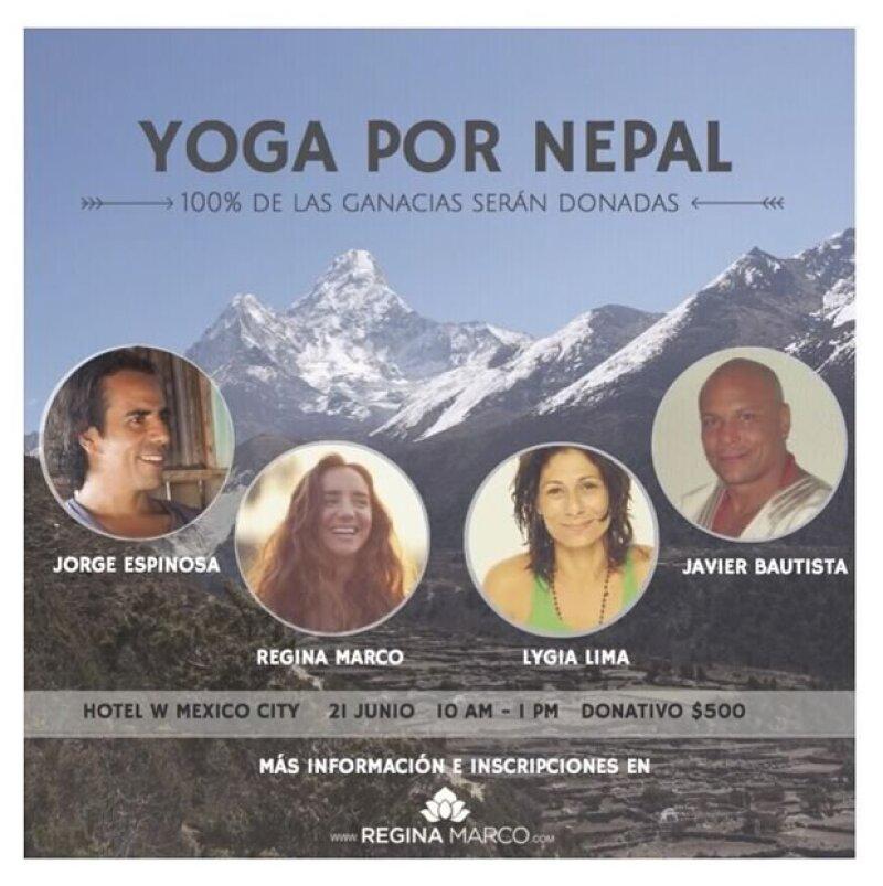 El próximo 21 de junio, los amantes del yoga se reunirán, en el Hotel W, con el objetivo de recaudar fondos para la reconstrucción de 20 casas en Nepal.