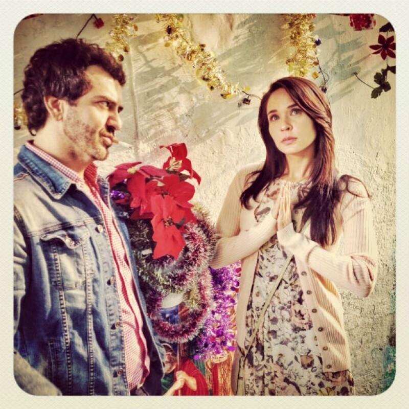 Flavio Medina hará la vida de cuadritos para Adriana en la telenovela.