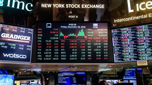 Acci mercado Estados Unidos recesión