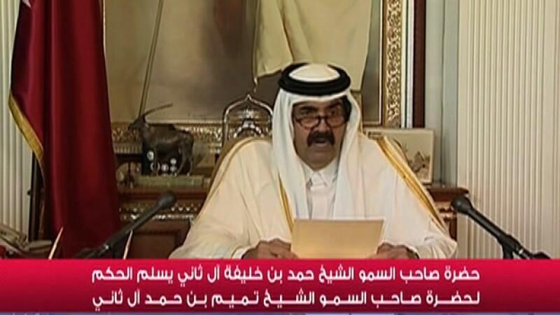 qatar, medio oriente, renuncia