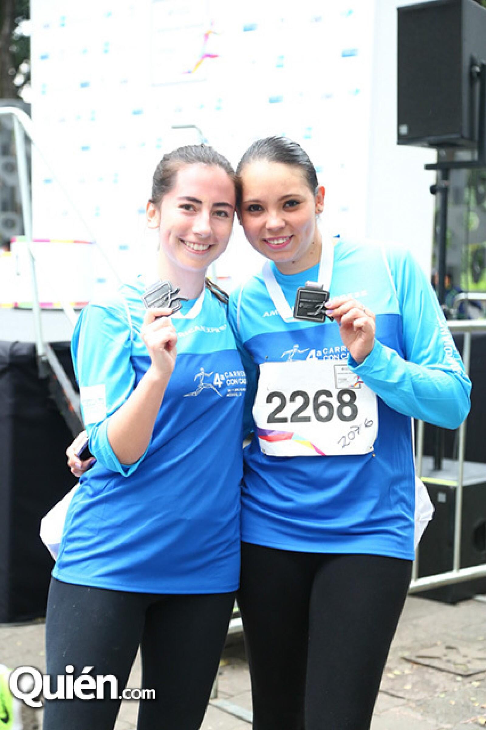 Ximena Valderrama y Lorena Serna
