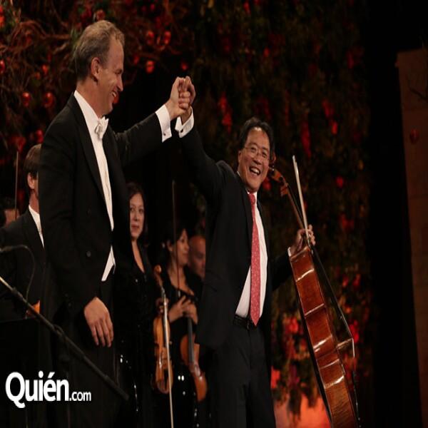 Carlos Miguel Prieto,Yo-yo Ma