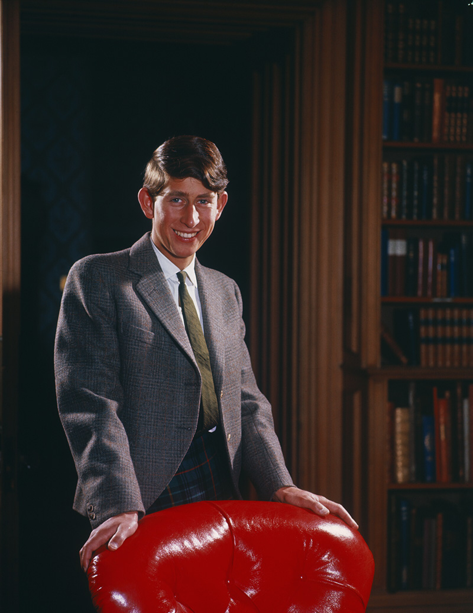 Portrait of Prince Charles on His 18th Birthday