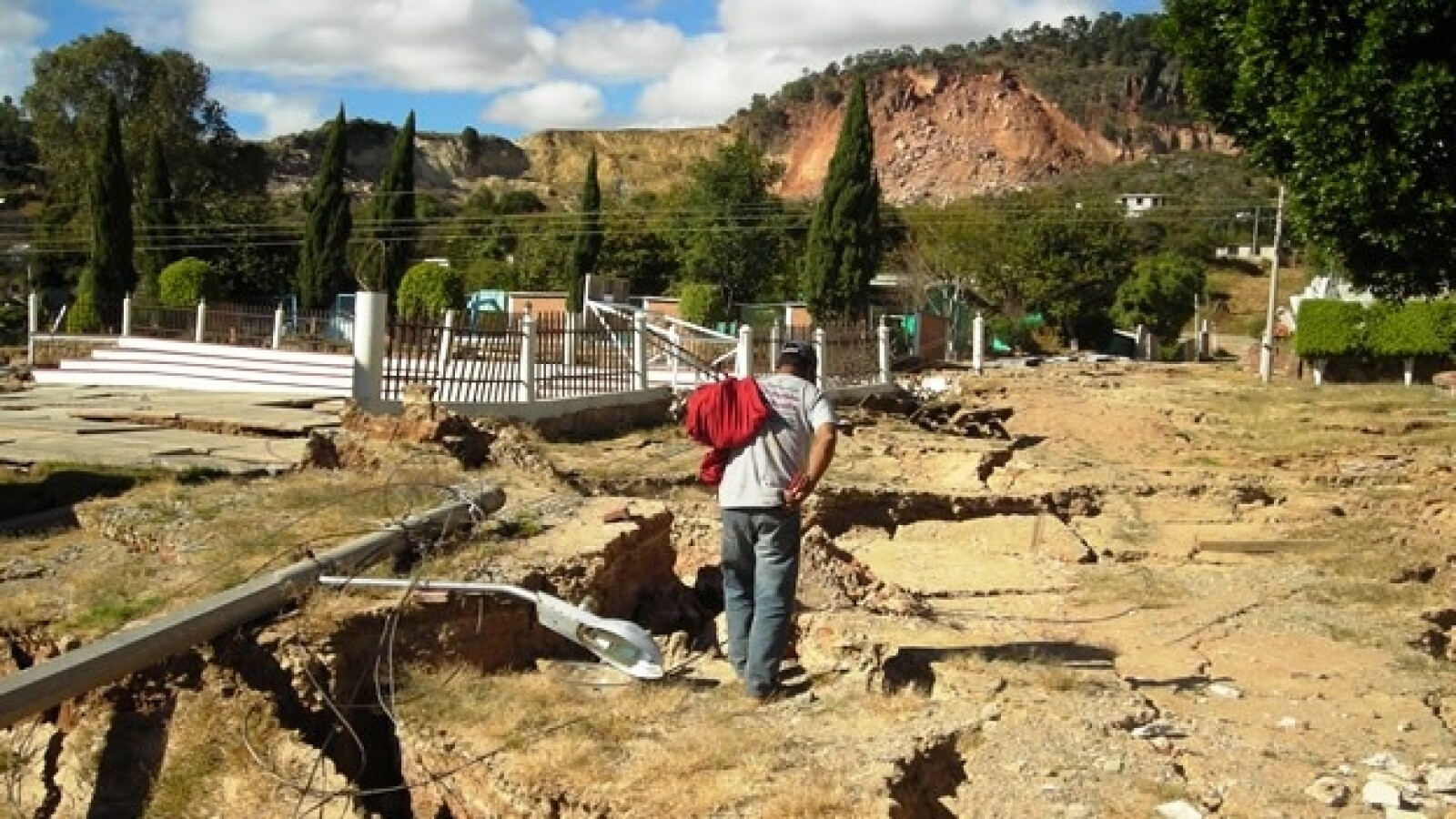 Mitlatongo falla geológica