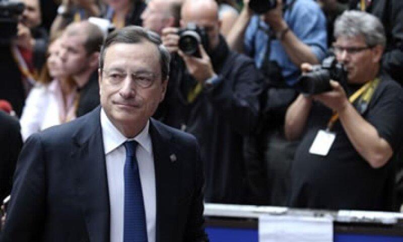 Mario Draghi también indicó que el esfuerzo de España debe ser reconocido. (Foto: Reuters)