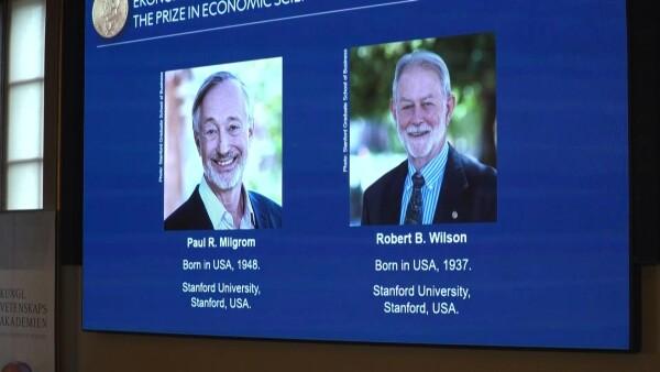 Nobel de Economía para dos estadounidenses por su teoría de subastas perfectas