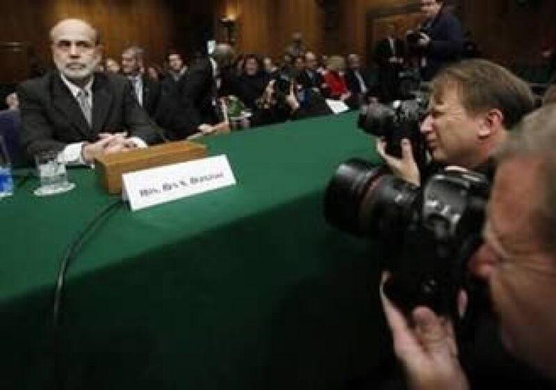 Ben Bernanke comparece ante el Congreso antes de su esperada aprobación para un segundo periodo. (Foto: Reuters)