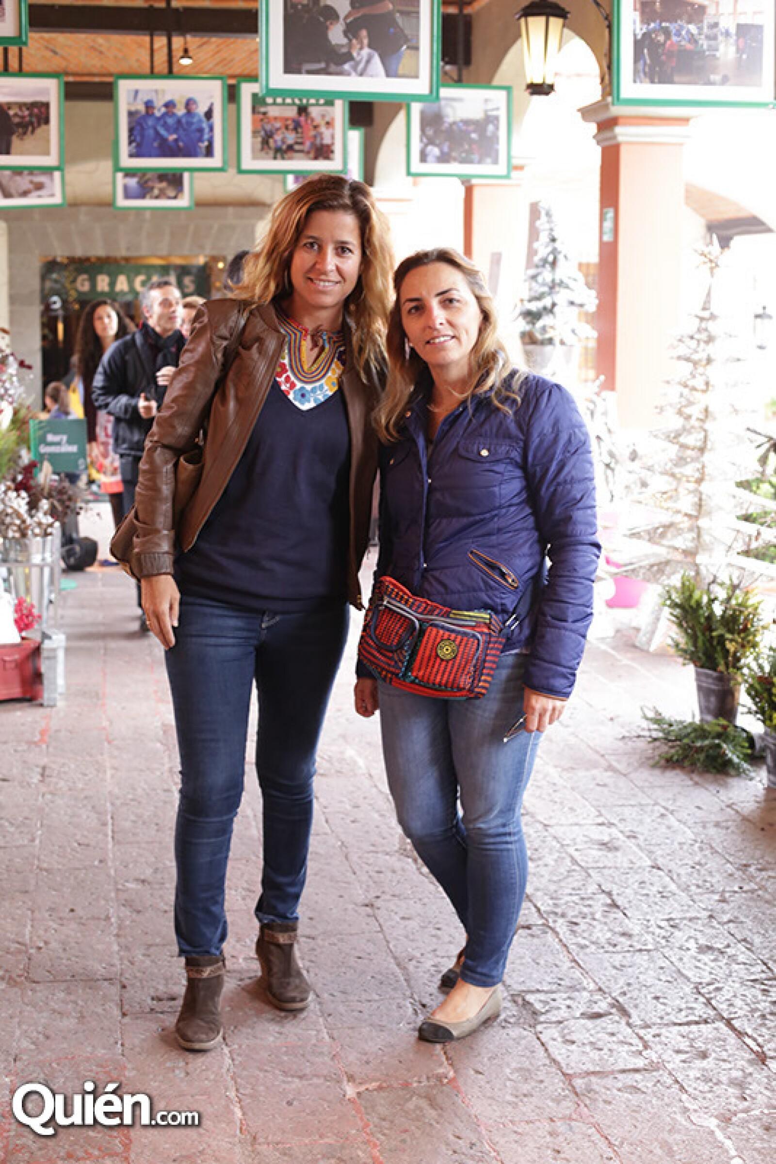 Ana Sierra y Mónia Villafruela