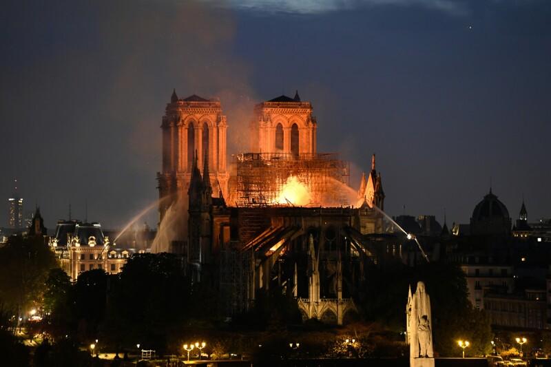Incendio - Notre Dame