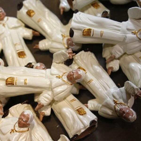 Juan Pablo II - figuritas