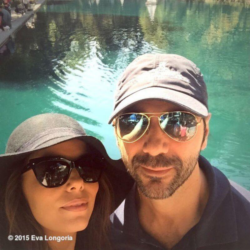 La actriz compartió por primera vez una selfie junto a su novio desde uno de los parques más conocidos del Distrito Federal, donde ambos disfrutaron de un relajado día.