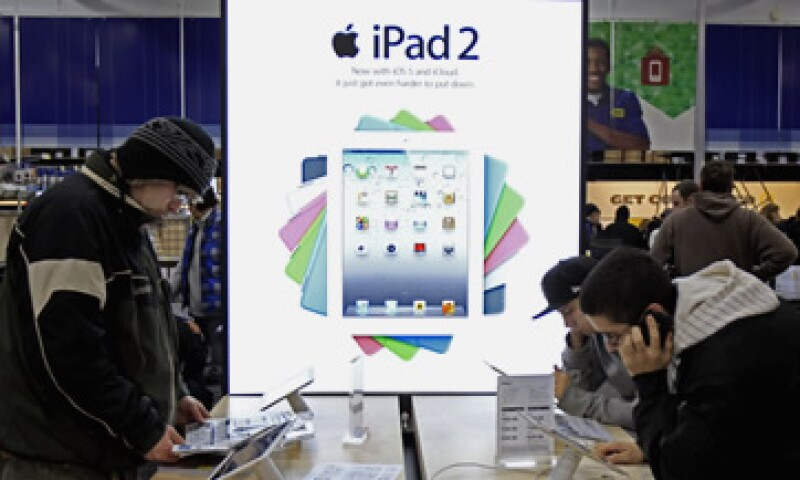 Las ventas de la iPad crecieron un 68% en comparación con el 2010. (Foto: Reuters)